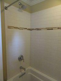 Subway Tile with Accent | Subway tiles, White subway tiles ...