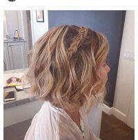 Bob braid  | Bride Hair | Pinterest | Bob braids and Bobs
