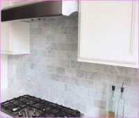 marble subway tile backsplash - Google Search   Kitchen ...