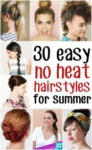 awesome hot weather hairstyles