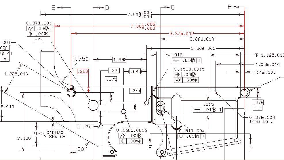Ar 15 Lower Schematic Diagram Machining AR Lower Diagram