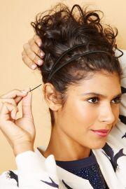 curly hairstyles - spring diy