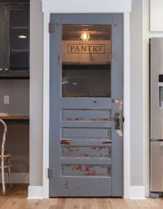 Rustic farmhouse pantry door ways wanted  in our house with some also rh pinterest