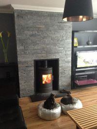 Slate Fireplace Surround and Hearth | Fireplace ...