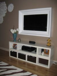 tv frames for wall mounted tvs