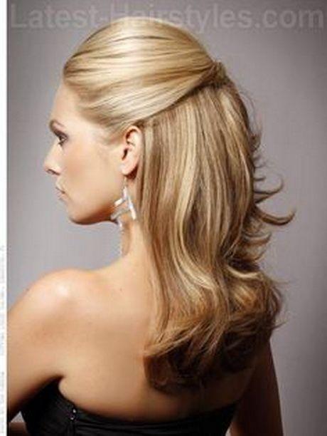 Mother Of The Bride Hair Half Up Half Down Medium Length Hair