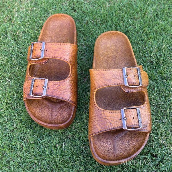 Classic Brown Pali Hawaii Sandals - Hawaiian Jesus