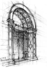 Architectural Sketch by ~gabahadatta on deviantART ...
