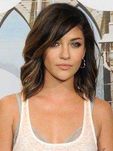17 Mittellange Haarschnitte Für Brünette! Frisuren