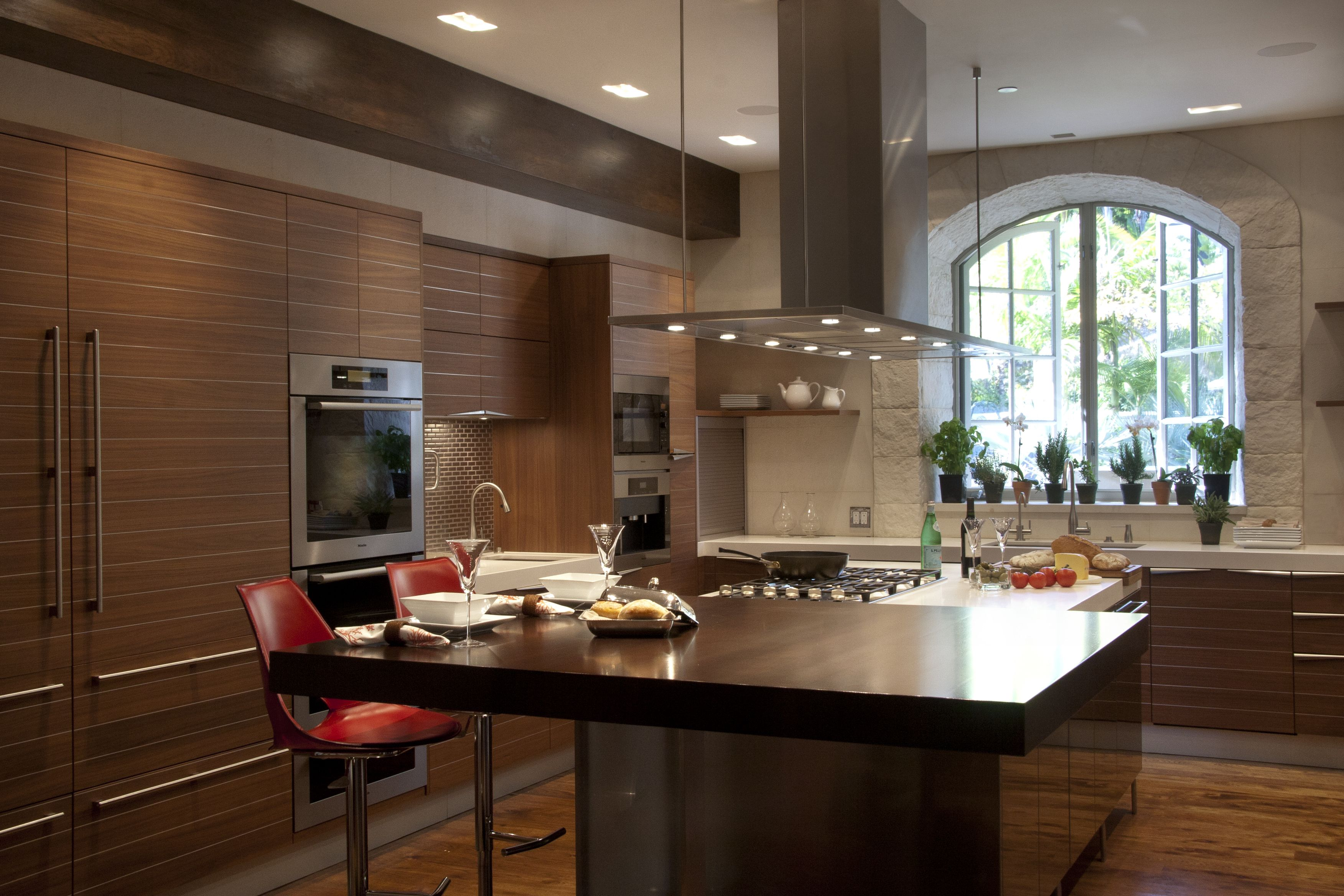 ... Stainless Steel Countertop Island Time Kitchen By Snaidero Usa Los  Angeles Wood With