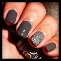 Best 25+ Grey nail polish ideas on Pinterest | Fall nail ...