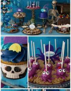 Birthday party ideas also pirates and mermaids remi   rh pinterest