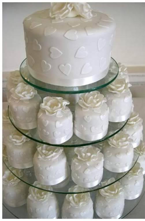 Creative Wedding Cake Ideas Ombre Wedding Cake Alternative