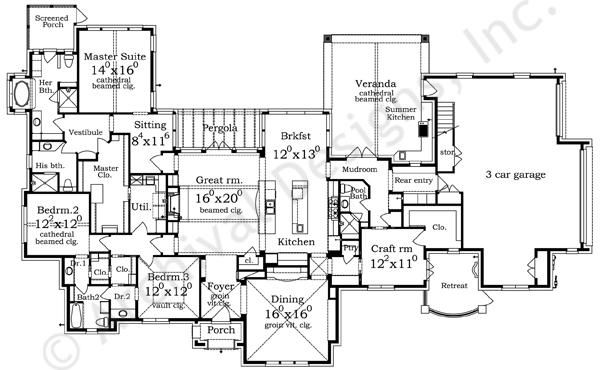 Traditional Luxury House Plans Luxury Home Plans Ideas Picture