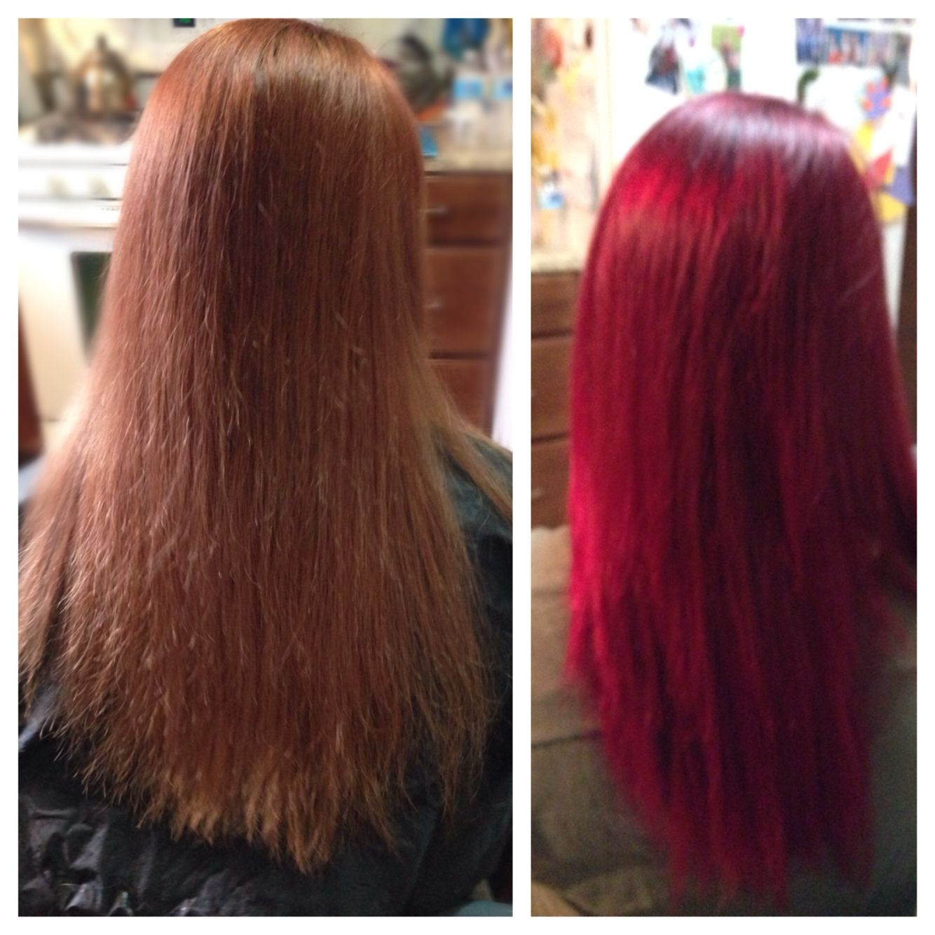 Before And After Elumen RR And A Little PK Hair I Do