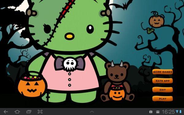 Hello Kitty Halloween Desktop
