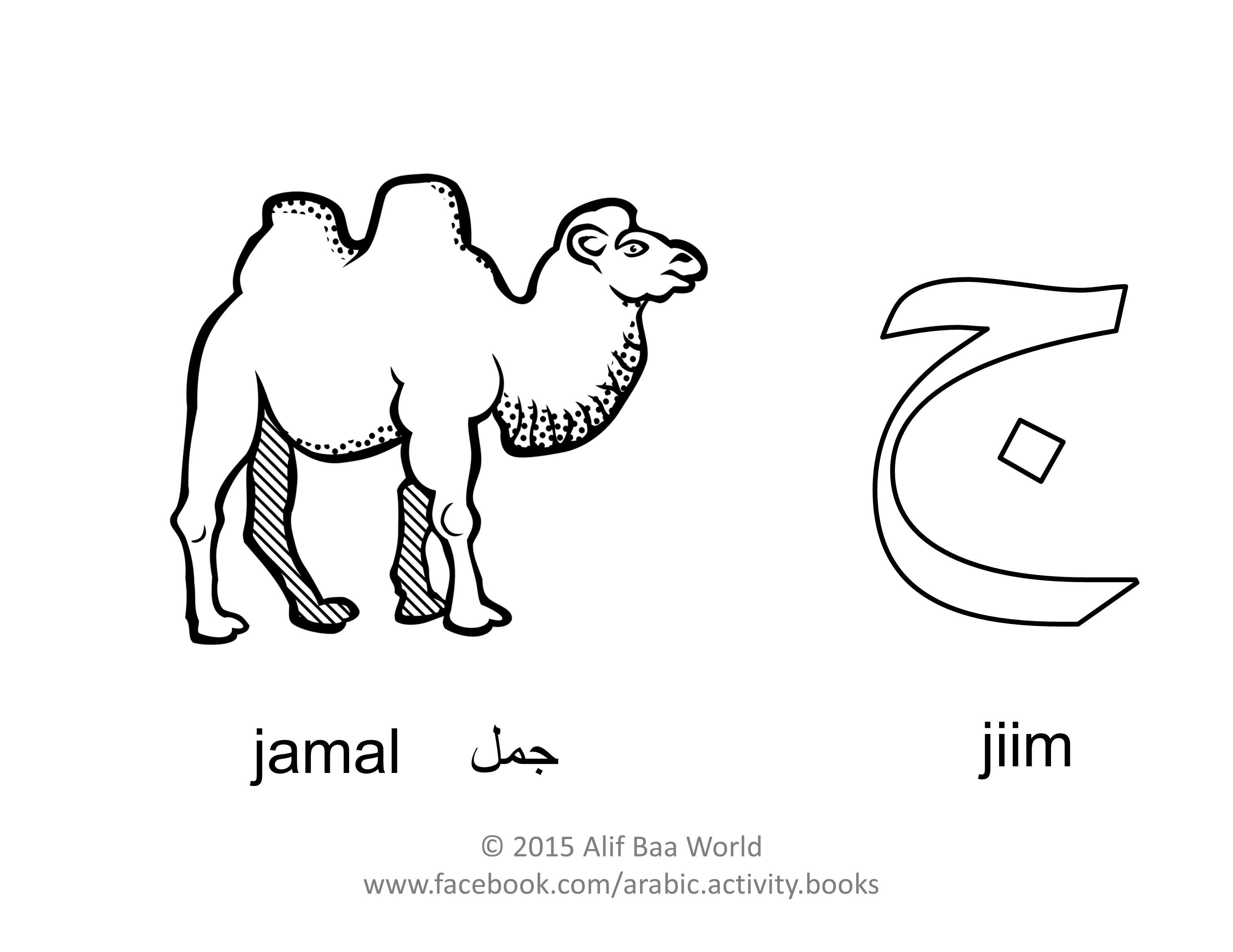 The Fifth Letter Of The Arabic Alphabet Is Name Jiim Sound J For Pronounced Jamal