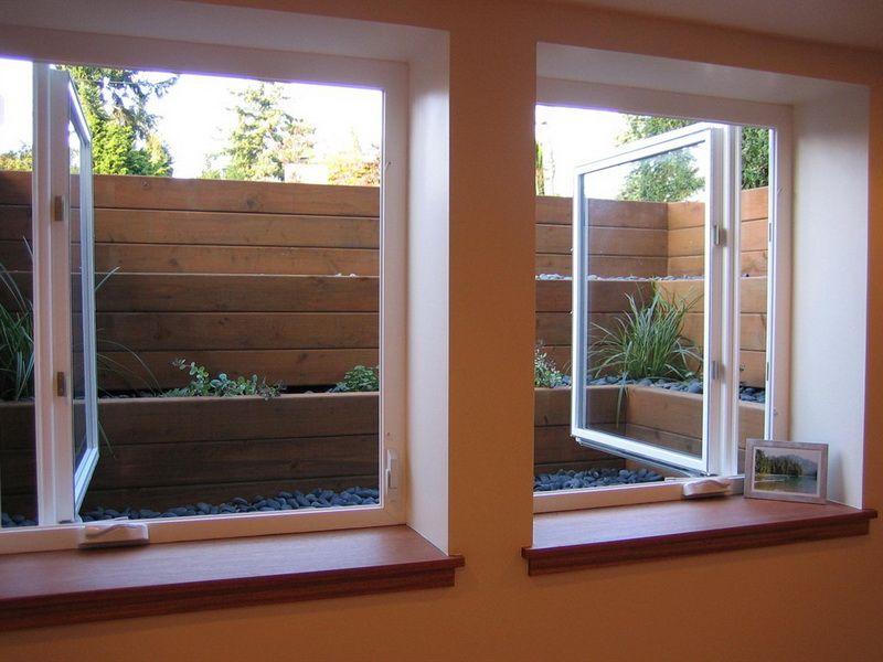 Egress Windows this is a great idea for basement windows