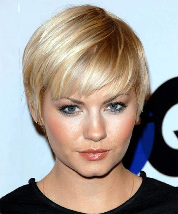 Pixie Hairstyles Double Chin Hair Nails Makeup Pinterest