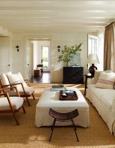 Shop the look inside an elegant wainscott residence also living rooms rh pinterest