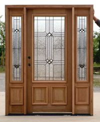front door with sidelights and transom saratoga | Exterior ...