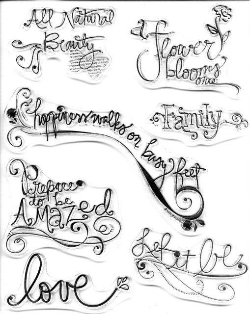 I Fancy Swirly Letters You Italic Love