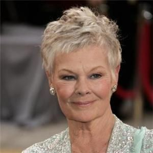 This Pixie Like Photo Of Judi Dench Is Lovely And Highlights Her