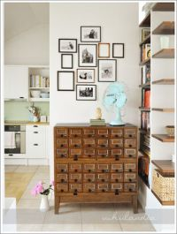 Small Space Craft Room | Shabby Chic Craft Space and DIY ...