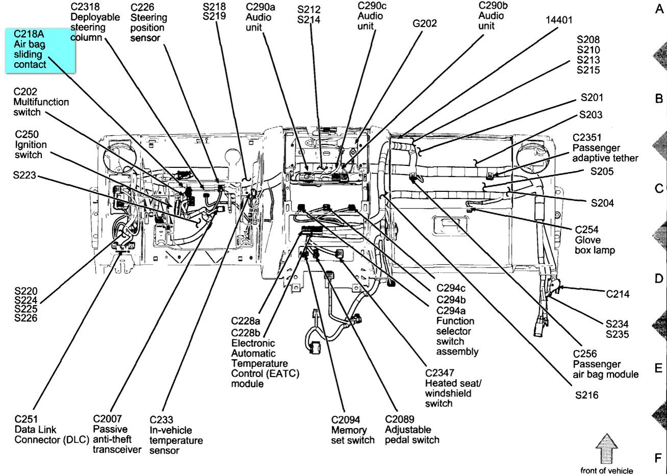 Ford Explorer Part Diagram