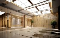 Modern Ceiling Design for Hotel Lobby Design with Glass ...