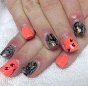 camo nails love