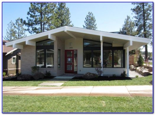 Mid Century Modern Exterior House Paint Colors