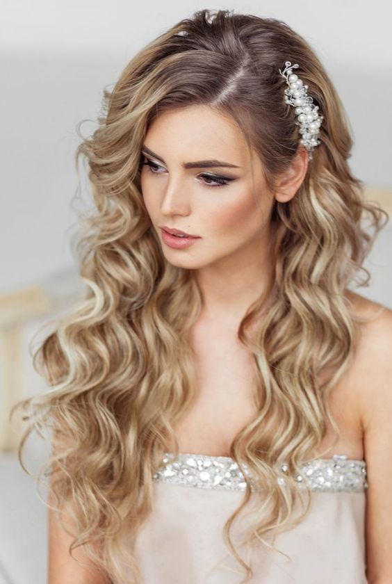 Elstile Long Wedding Hairstyle Long Wedding Hairstyles And