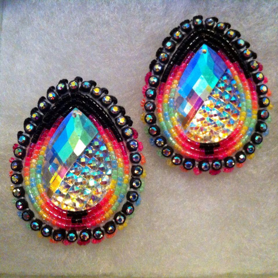 Native Beaded Earrings Designs