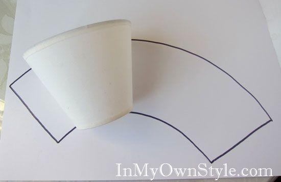 How To Make Chandelier Shade Covers Using Sbook Paper In My Own Style