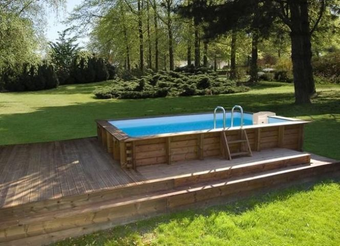 Best Piscine Bois Rectangulaire Ideas On Pinterest Piscine En Bois Rectangulaire Piscine Rectangulaire And Piscines Modernes