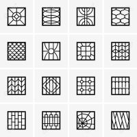 modern window grills design