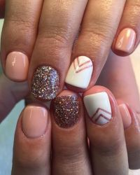 22 Easy Fall Nail Designs for Short Nails | Short nails ...