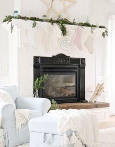 House also cozy vintage christmas living room decoration ideas rh pinterest