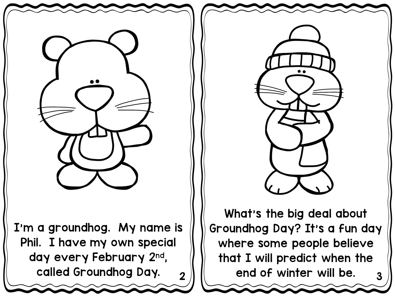 Groundhog Day Printable Readers With Comprehension