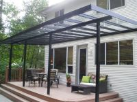 patio covers & awnings aluminum and glass
