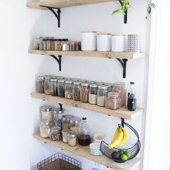 Kitchen Wall Shelf Pantry Cabinet Ikea 8 Tips For Creating Successful Open Shelving And A