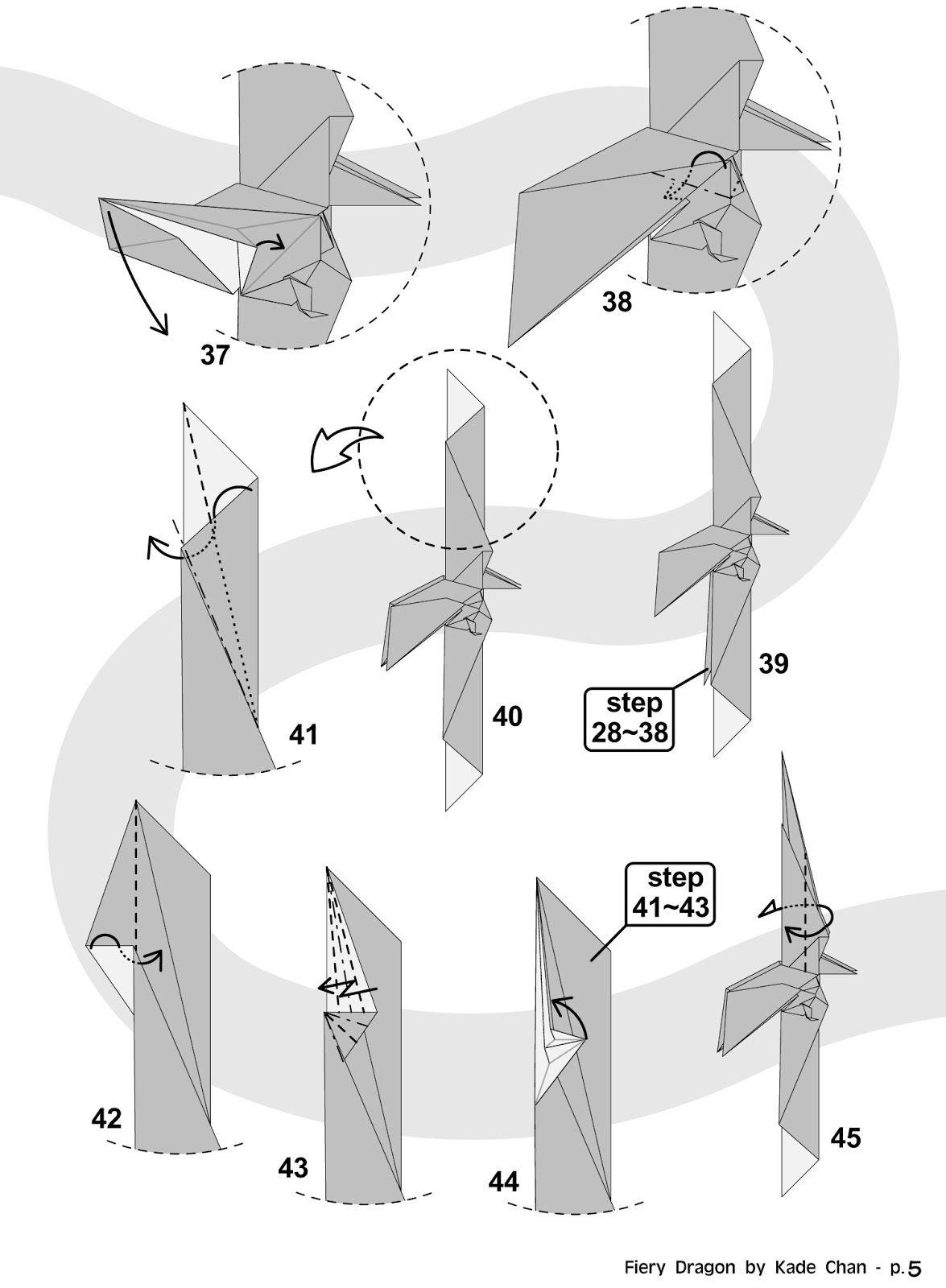 diagram origami bracelet domestic wiring diagrams australia kade chan blog 香港摺紙工作室 日誌 fiery dragon