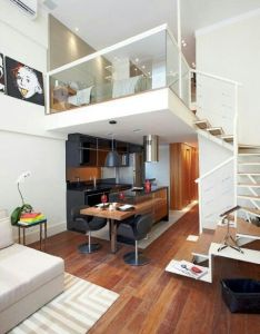 Room duplex small roomssmall spacessmall space designloft also beautiful homes pinterest lofts interiors and house rh