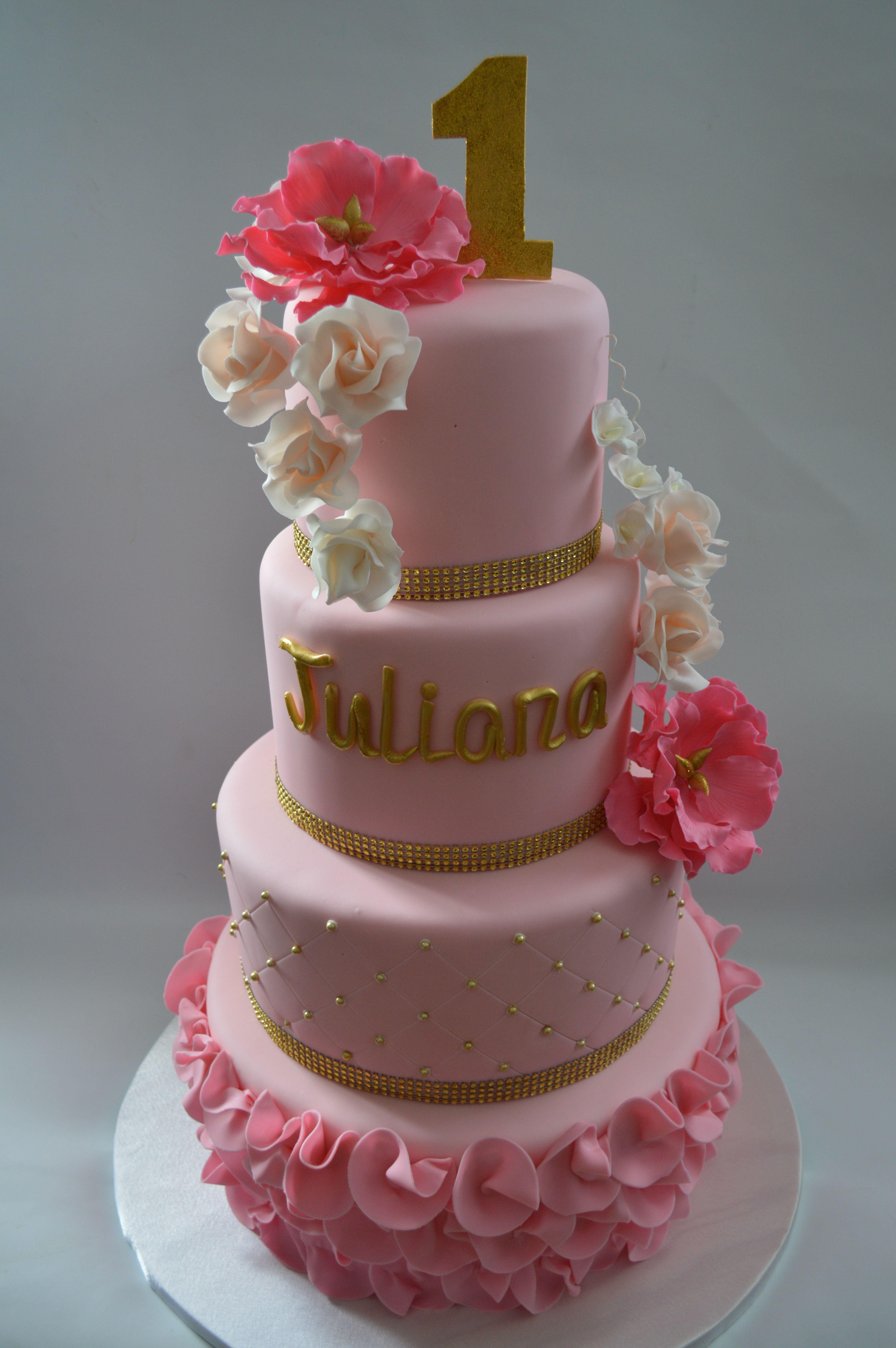 First Birthday Cake Ideas For Girls