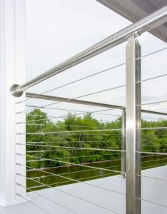 Railing design also stainless steel cable line inlinedesign modern rh pinterest