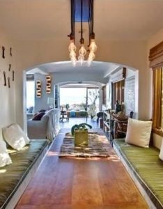 Inside charlize theron   home breezy beach house in malibu also dining room dream pinterest rh za