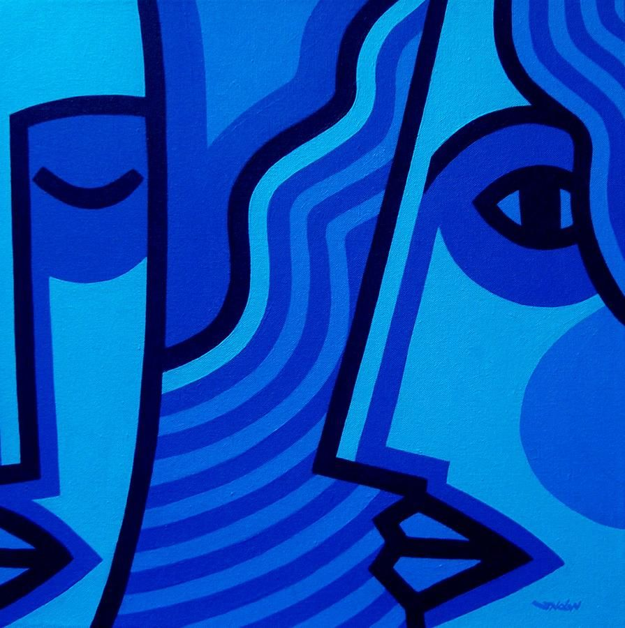 Monochromatic Paintings Examples