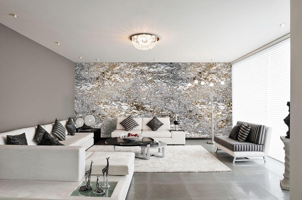 Wohnzimmer Tapeten Modern - Boisholz