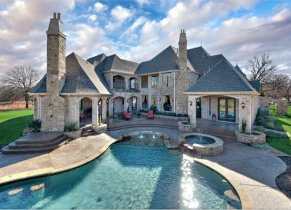 Dream House Jacuzzi Pool Amazing Backyard Dream House